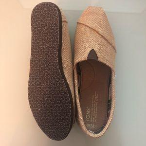 Toms Classic Natural Burlap: Women's 7.5 shoes